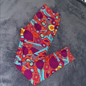Multicolored LulaRoe Leggings